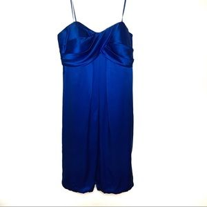 Royal Blue short cache dress Homecoming/Prom size2